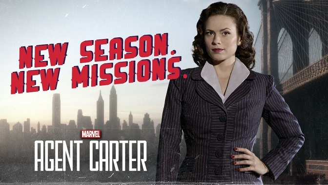 Agent Carter Season 2 RedLanComics