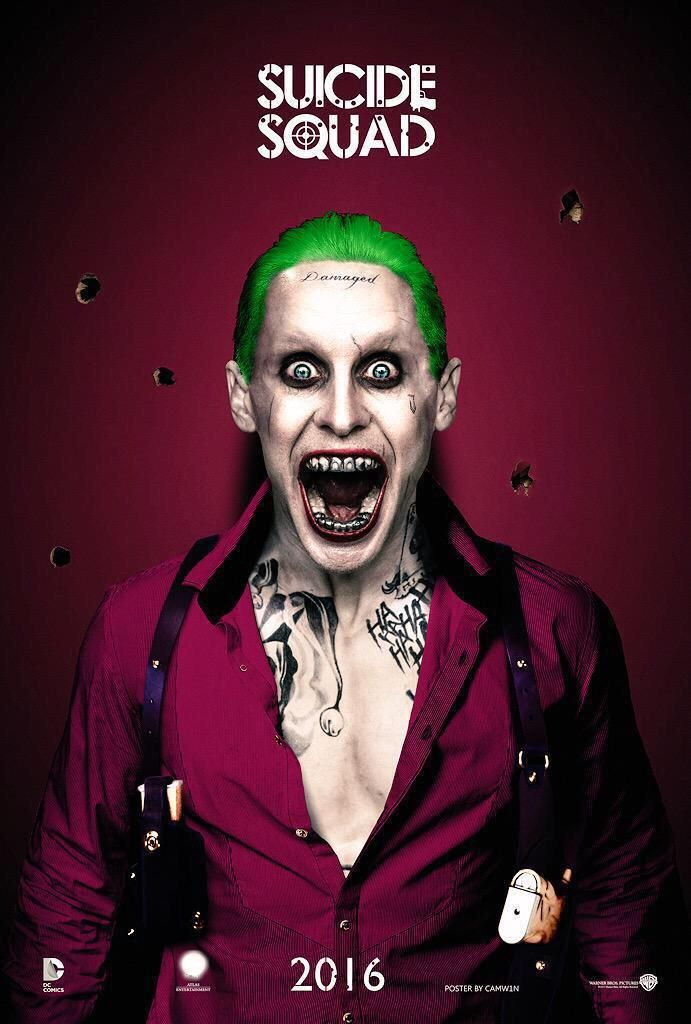 Joker Jared RedLanComics