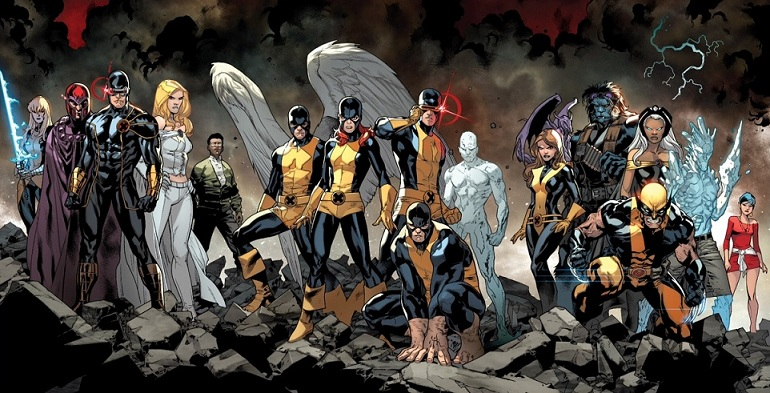 all new x men covers