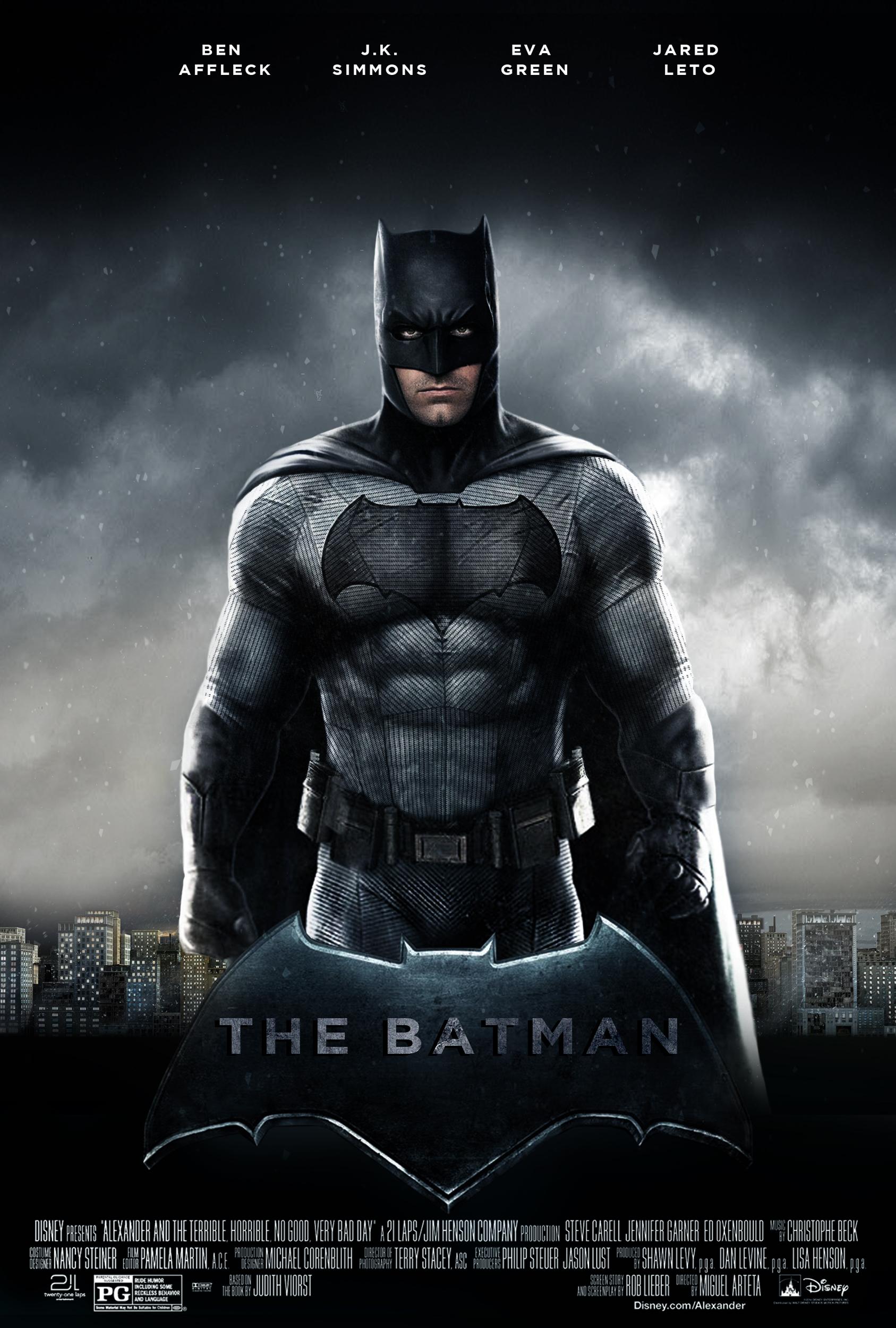 Confirmado el título del film solitario de Batman